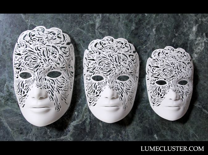 Available only via Lumecluster: Dreamer masks by Melissa Ng [Image: Lumecluster]