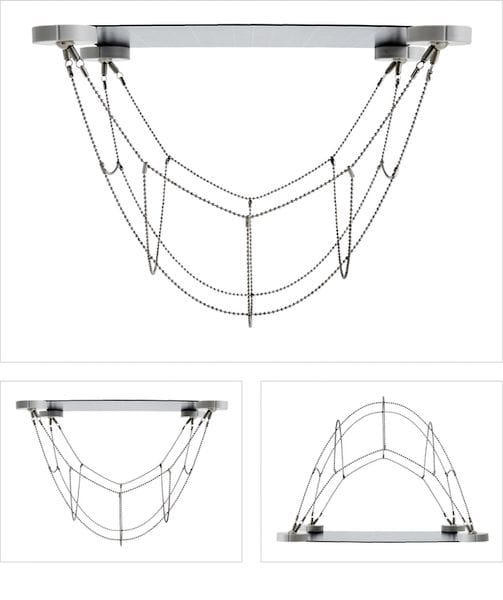 The Mola Structural kit built into a hanging bridge [Source: SolidSmack]