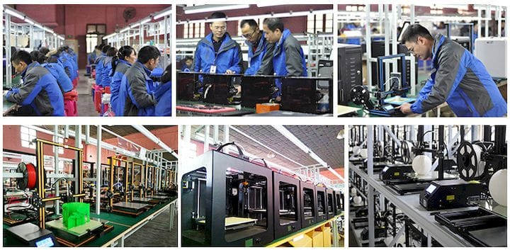 DISWAY is a contract manufacturing brand for 3D printers in China [Source: Dcreate]