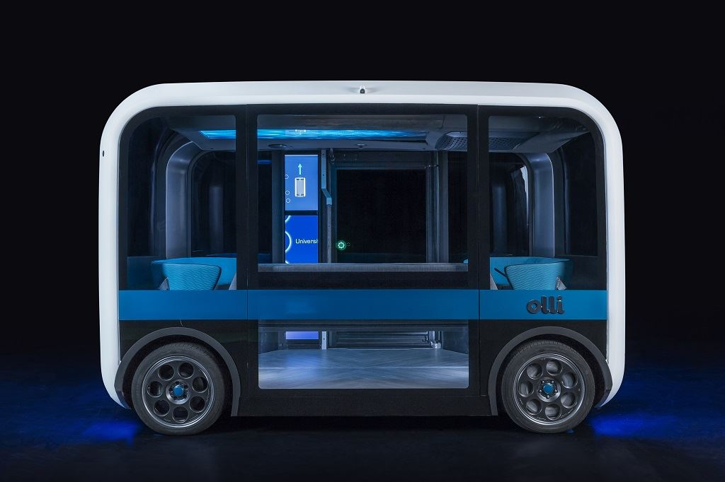 Olli 2.0 [Image: Local Motors via TechCrunch]