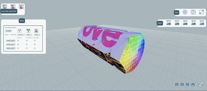 Software to prepare 3D models for color 3D printing [Source: OVE]