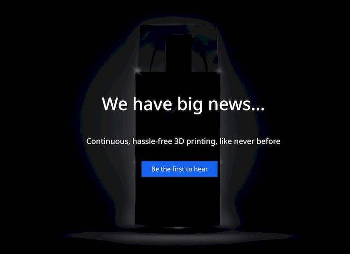 Ultimaker is about to announce… something [Source: Ultimaker]