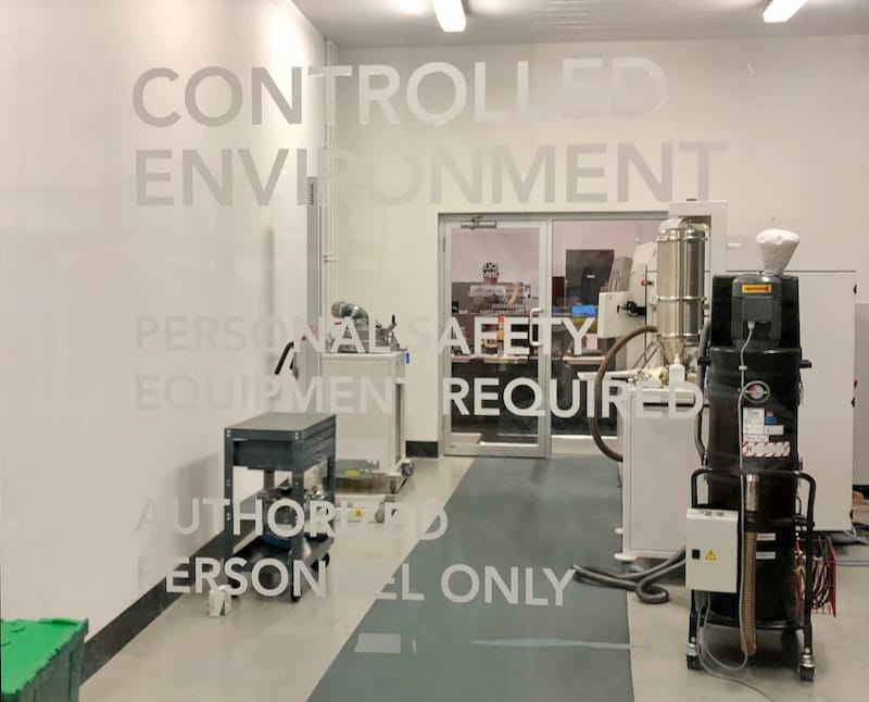 Environmentally-controlled 3D print operations at Precision ADM [Source: Fabbaloo]