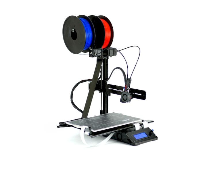 The low-cost Axis 3D Printer [Source: Makertech 3D]