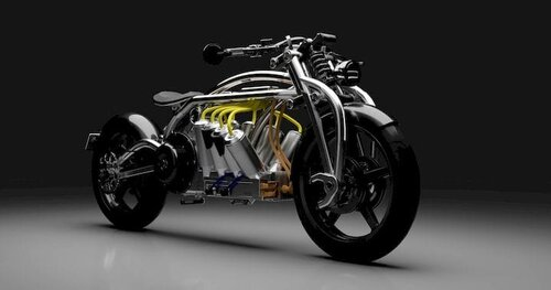 The Zeus V8 Electric Motorcycle [Source: Curtiss Motorcycles]