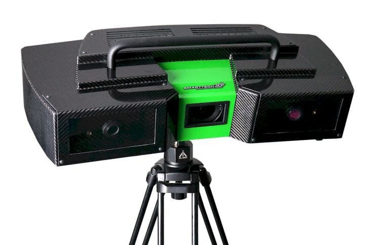 The MICRON3D Green LED 3D scanner for industry [Source: SMARTTECH3D]