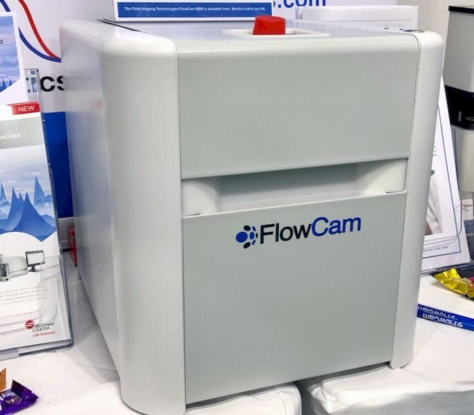The FlowCam 8000 particle analyzer [Source: Fabbaloo]