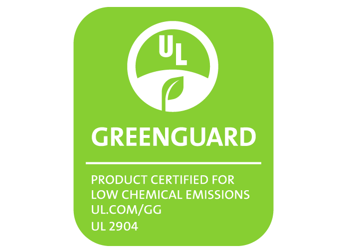 UL GREENGUARD 2904 certification: look for this sticker on 3D printers as safety standards become more common. [Image: Rize]