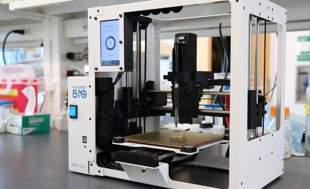 The LulzBot Bio is at home in a lab [Image: Aleph Objects]