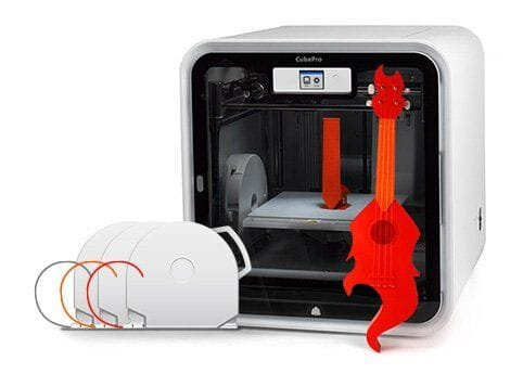 3D Systems' CubePro 3D printer [Source: 3D Systems]