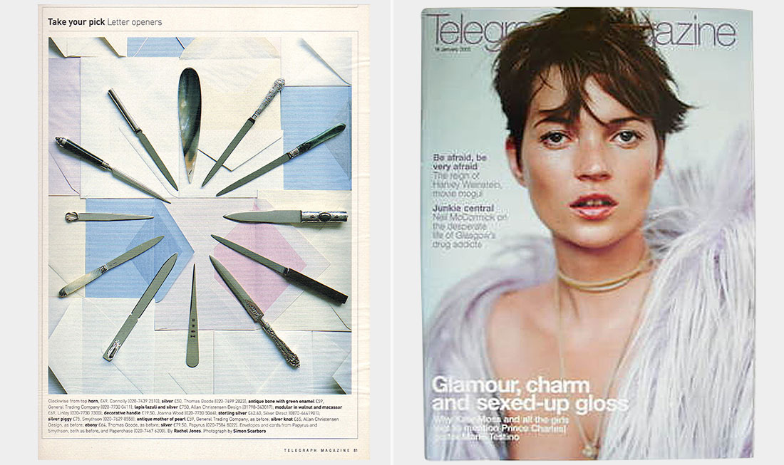 Telegraph magazine  Take your pick - Letter openers