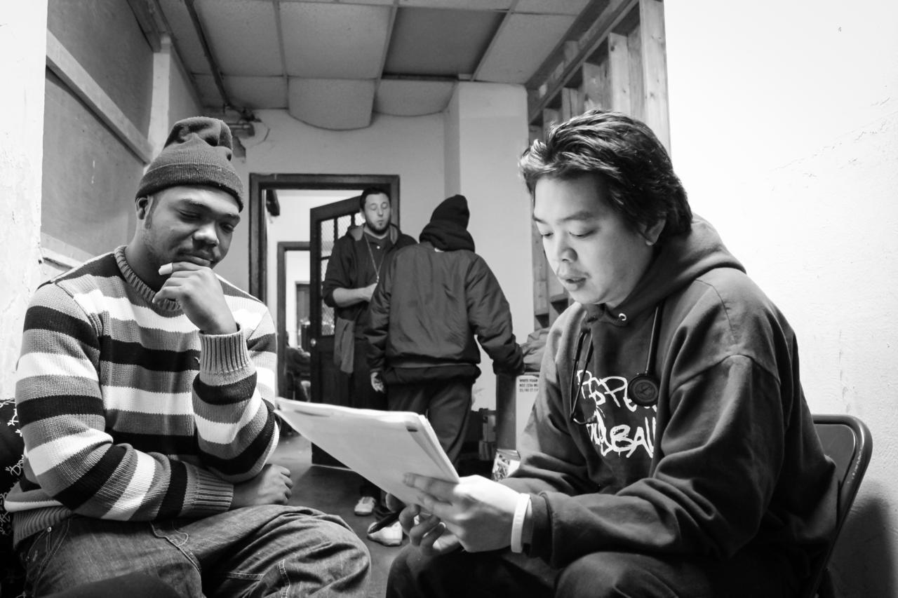 "Stateside: Med team brings ""street medicine"" to Detroit's homeless (Michigan Radio 91.7 FM) -- Dec 18, 2012"