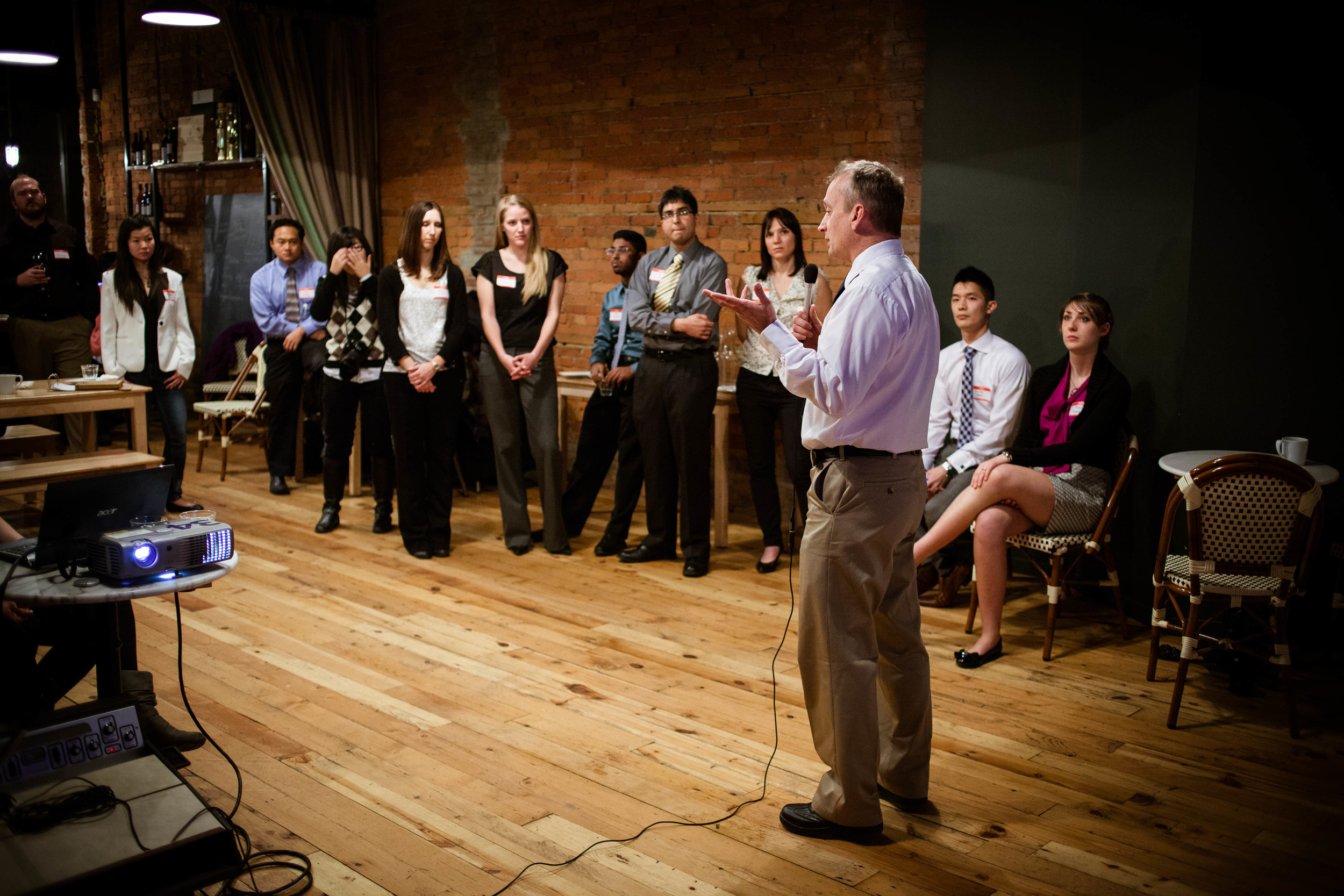 Street Medicine Institute Founder Inspires Medical Students (WSUSOM E-News) - Jan 10, 2013