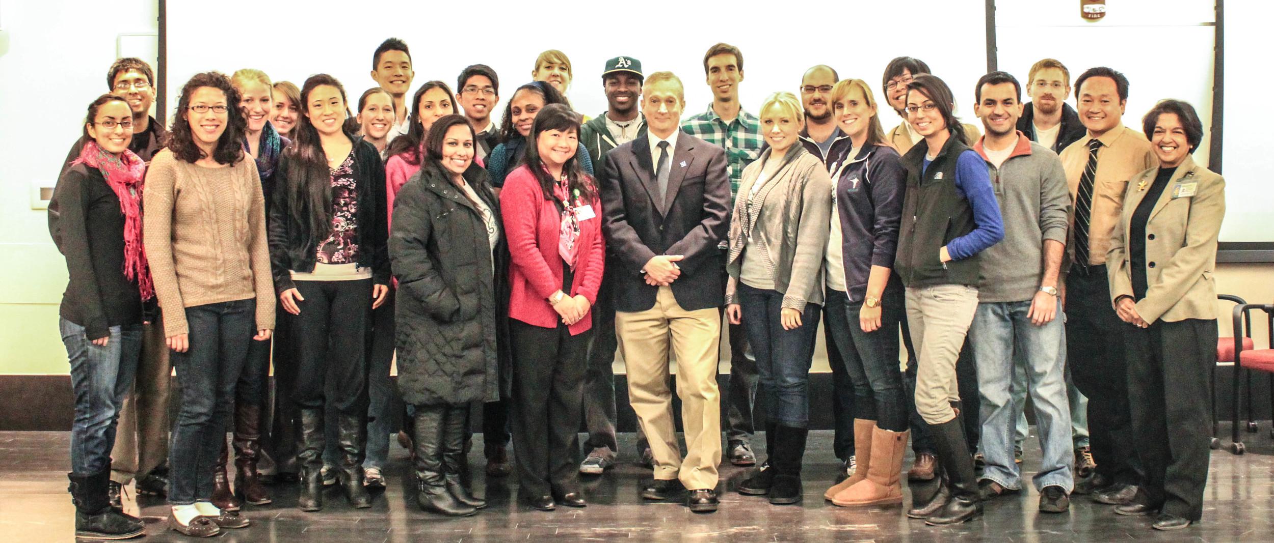 Students Bring Street Medicine Institute Founder to SOM (WSUSOM E-News) - Jan 2, 2013
