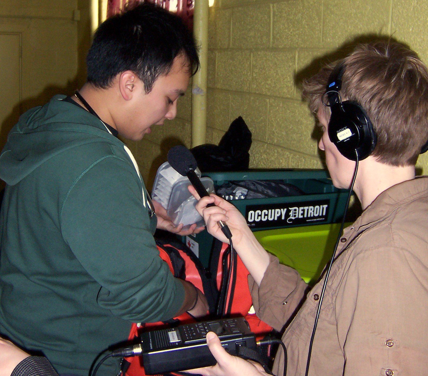 Mobile Clinic Looks Out For Detroit's Homeless (WDET 101.9 FM) -- Apr 10, 2013