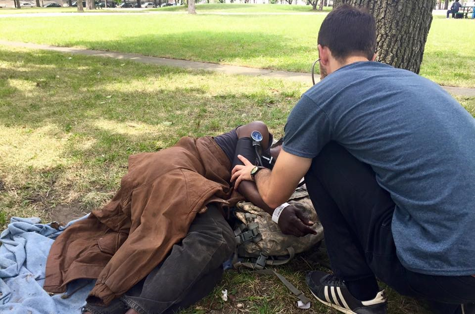 Teaming Up to Provide Medical Care for the Homeless: Street Medicine Detroit -- Dec 2, 2015