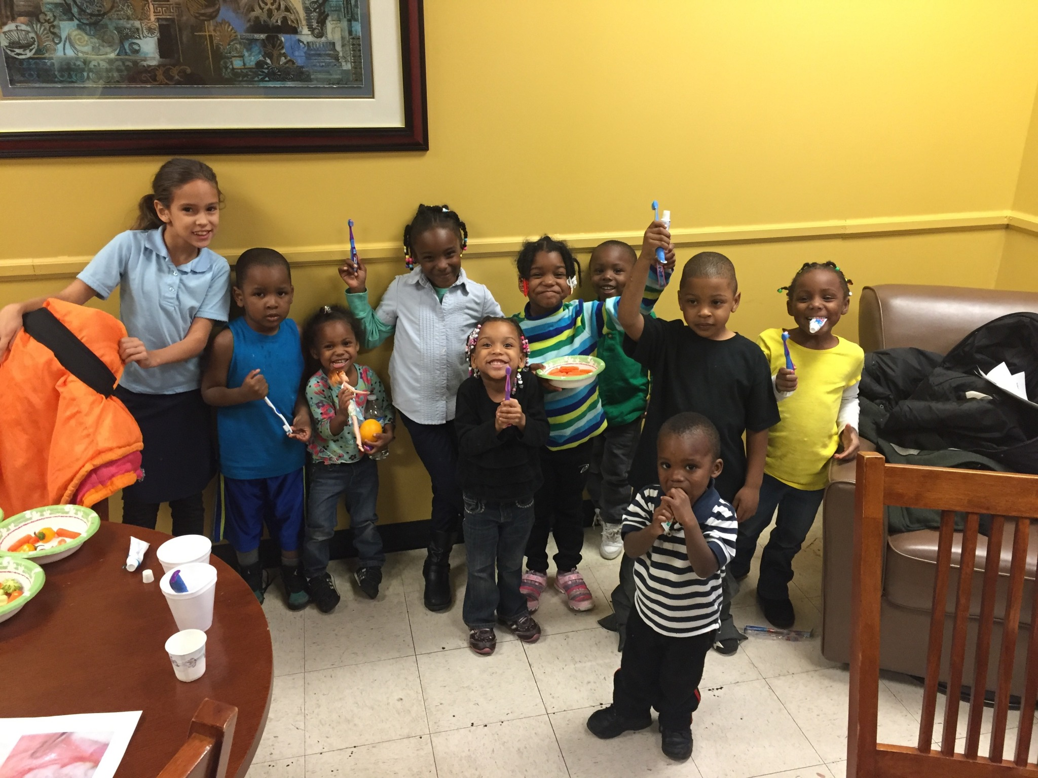 Street Medicine Detroit wellness seminars teach kids the importance of proper dental hygiene