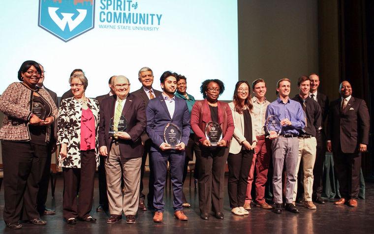 Wayne State holds first Spirit of Community ceremony - Mar 2017
