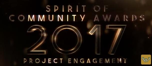 Spirit of Community Awards 2017 - Project Engagement - Mar 2017