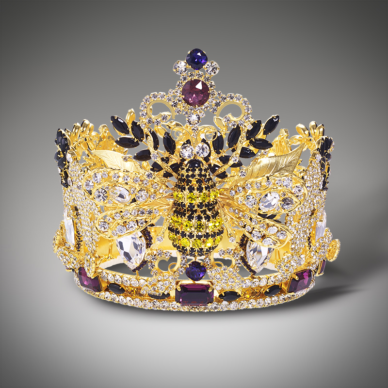 Custom Made King Queen Crown