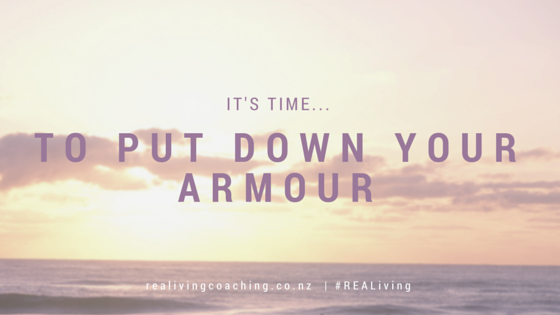 put down your armour