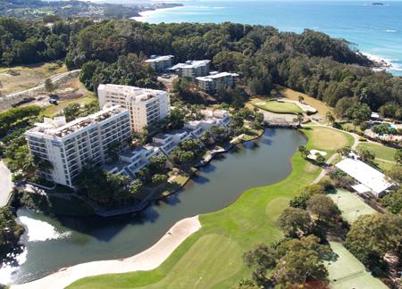 Pacific bay resort jeffress associates for Pool builders yamba