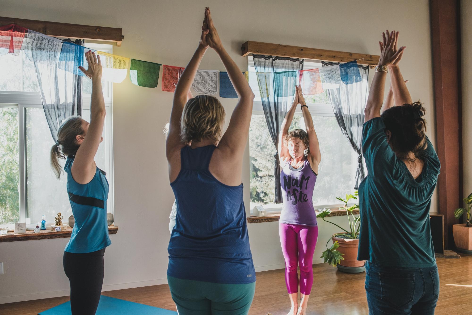 Yoga at Sagrada Wellness