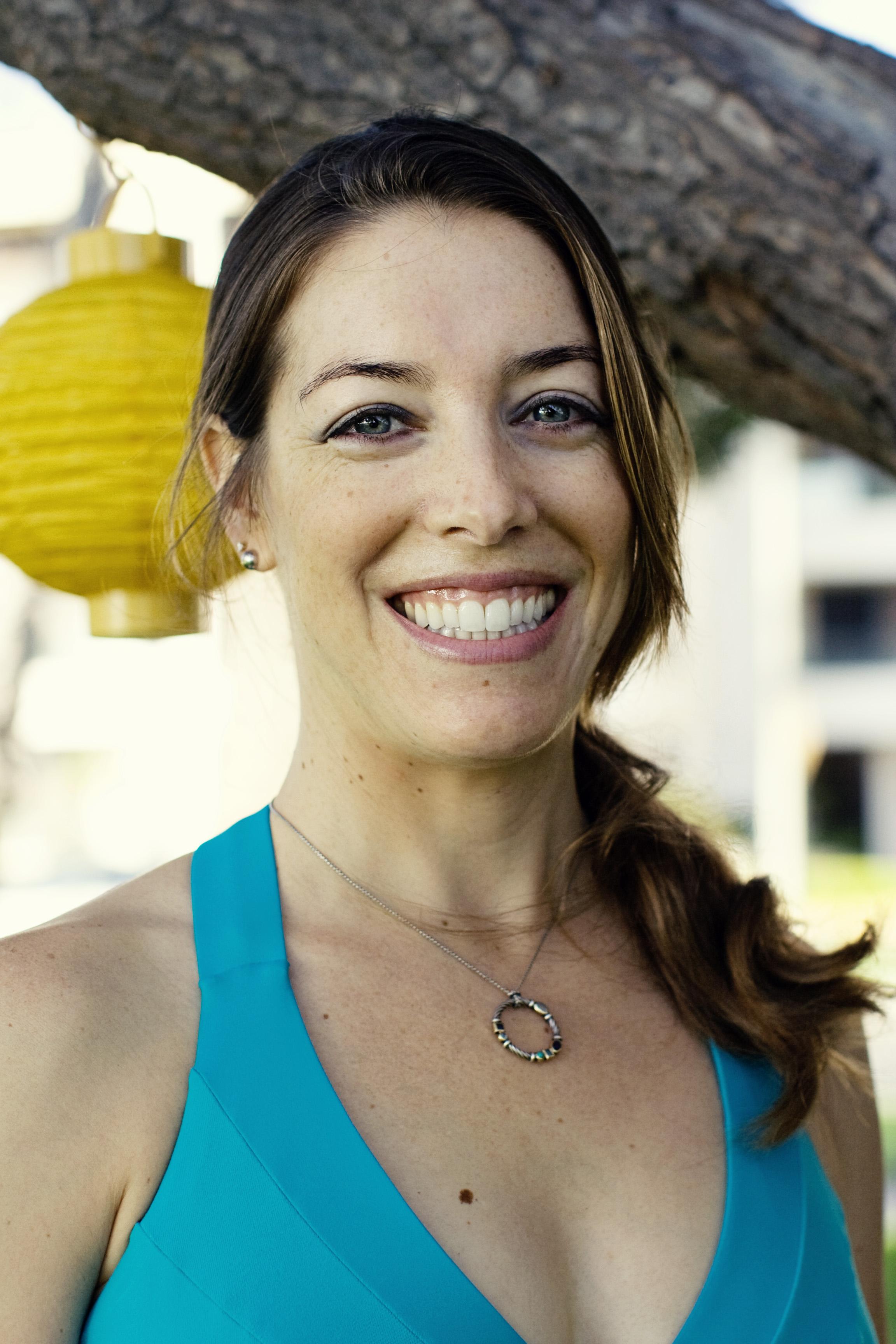 Yoga and Pilates teacher Nicole Currie