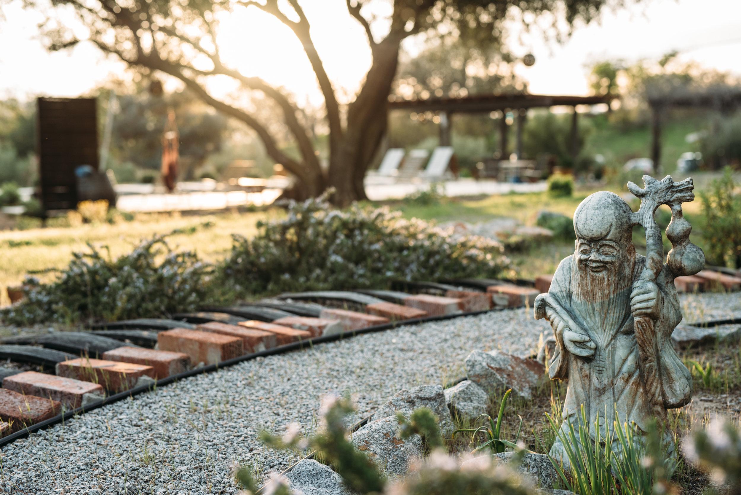 Sagrada grounds