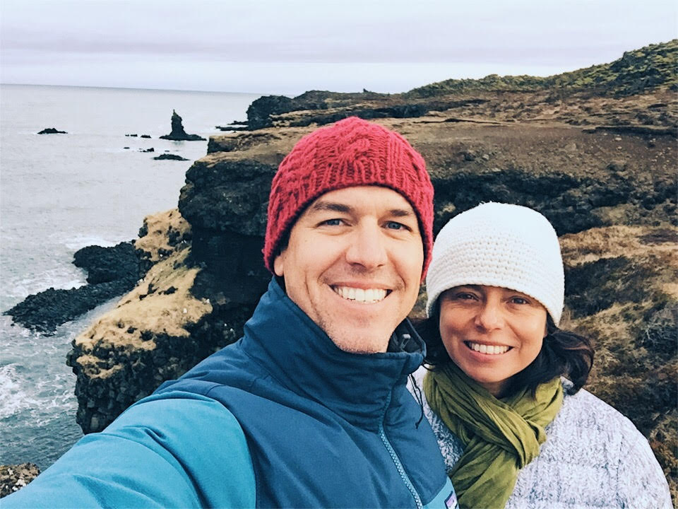 Exploring Iceland between yoga