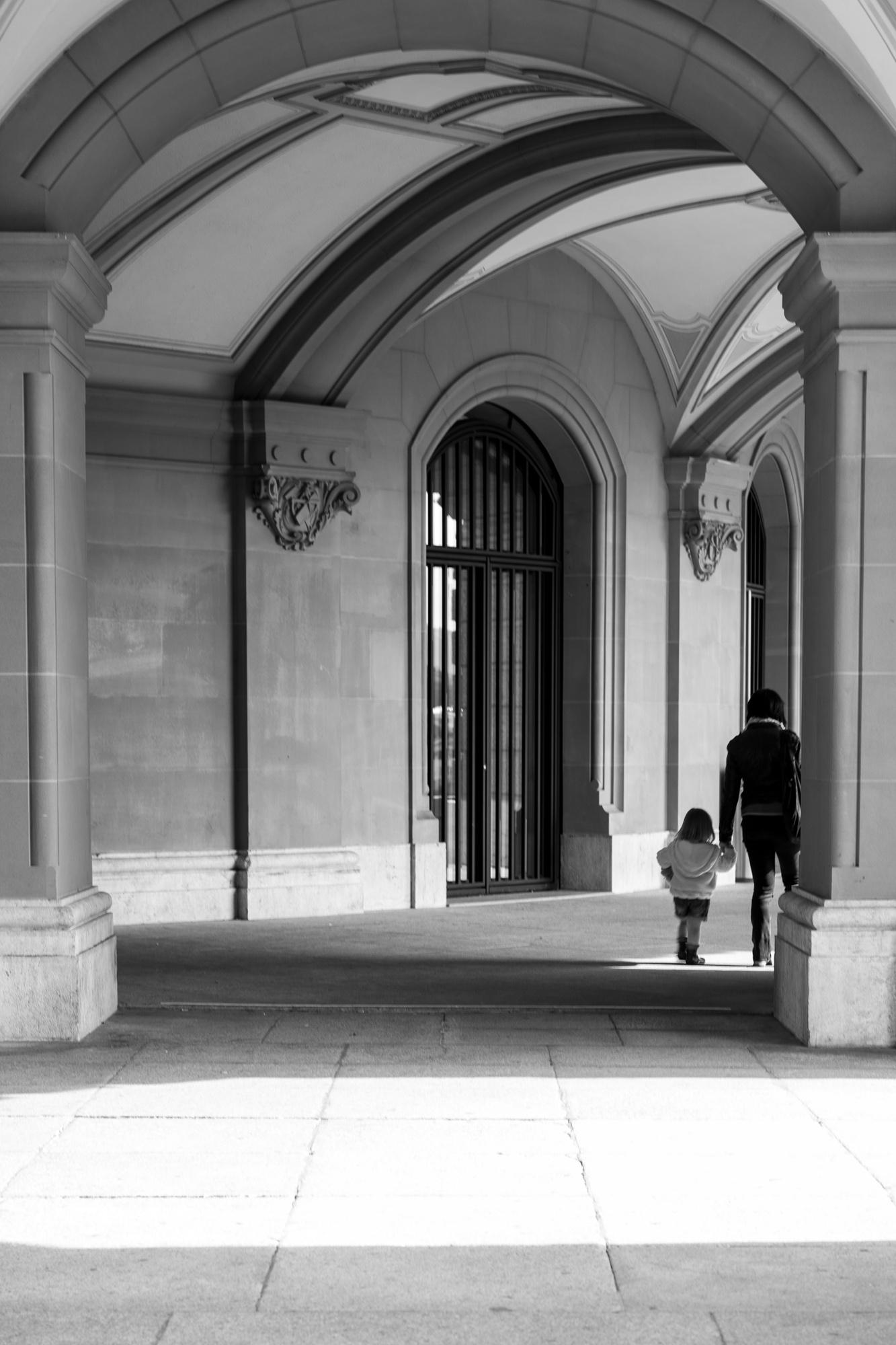 Arches in Berne