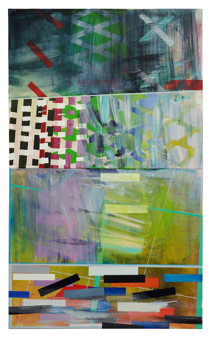 Landscape    · 140 x 85  cm · 2-teilig · Acryl, Pigment auf Leinwand , 2011