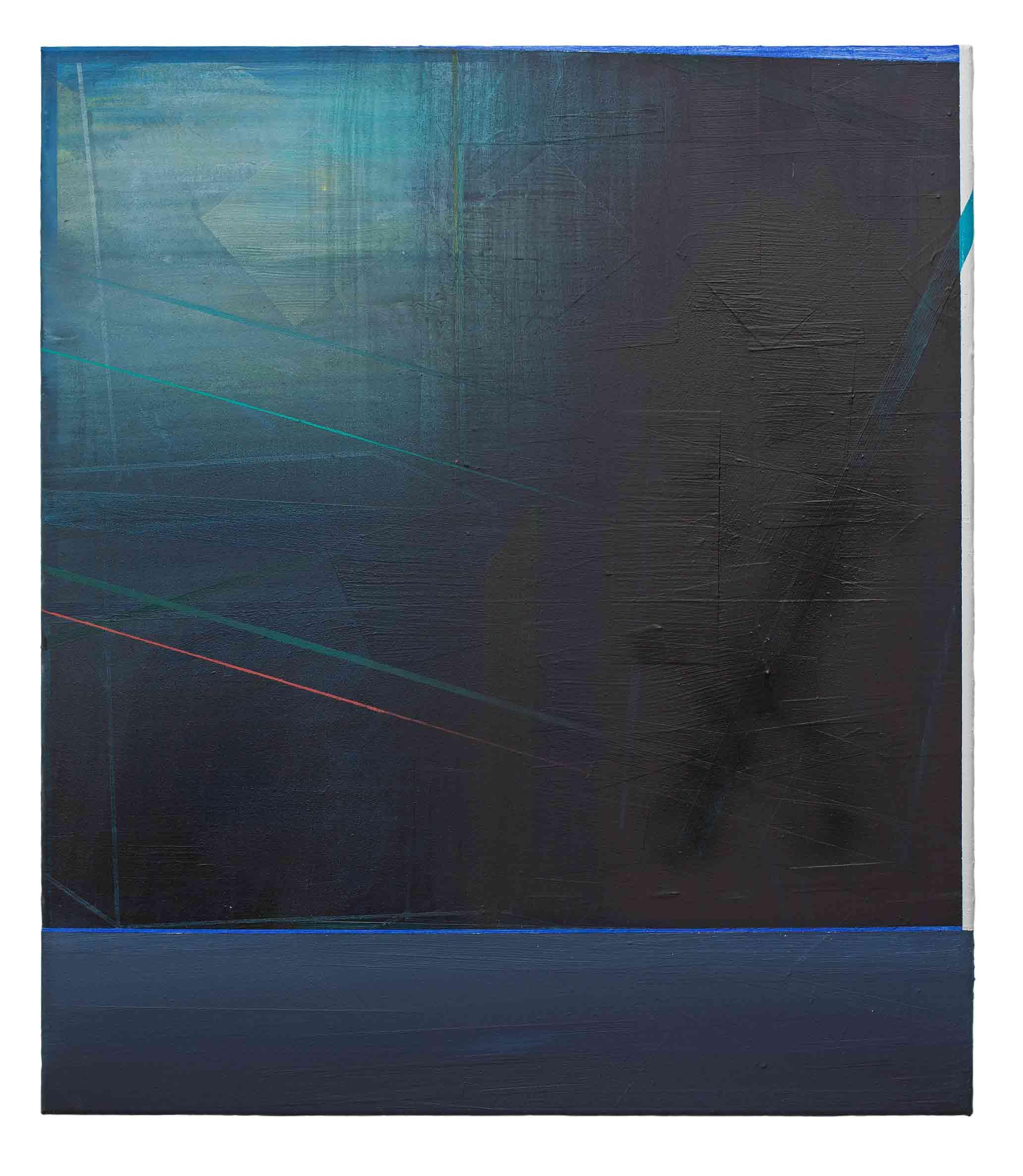 Storm   · 80 x 70 cm · Acryl, Pigment, Lack auf Leinwand, 2012
