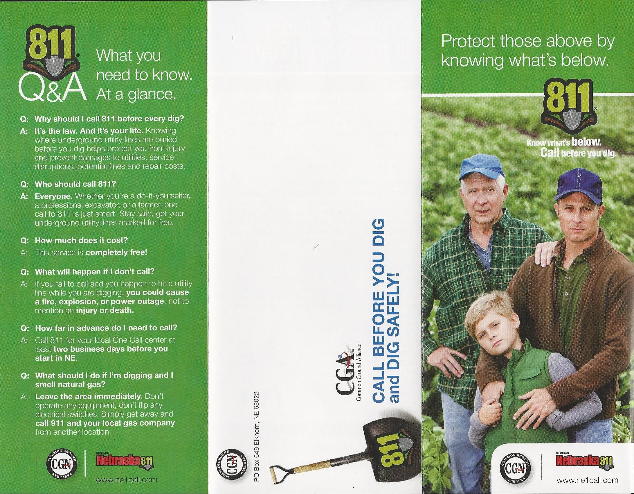 Ag brochure - full front.