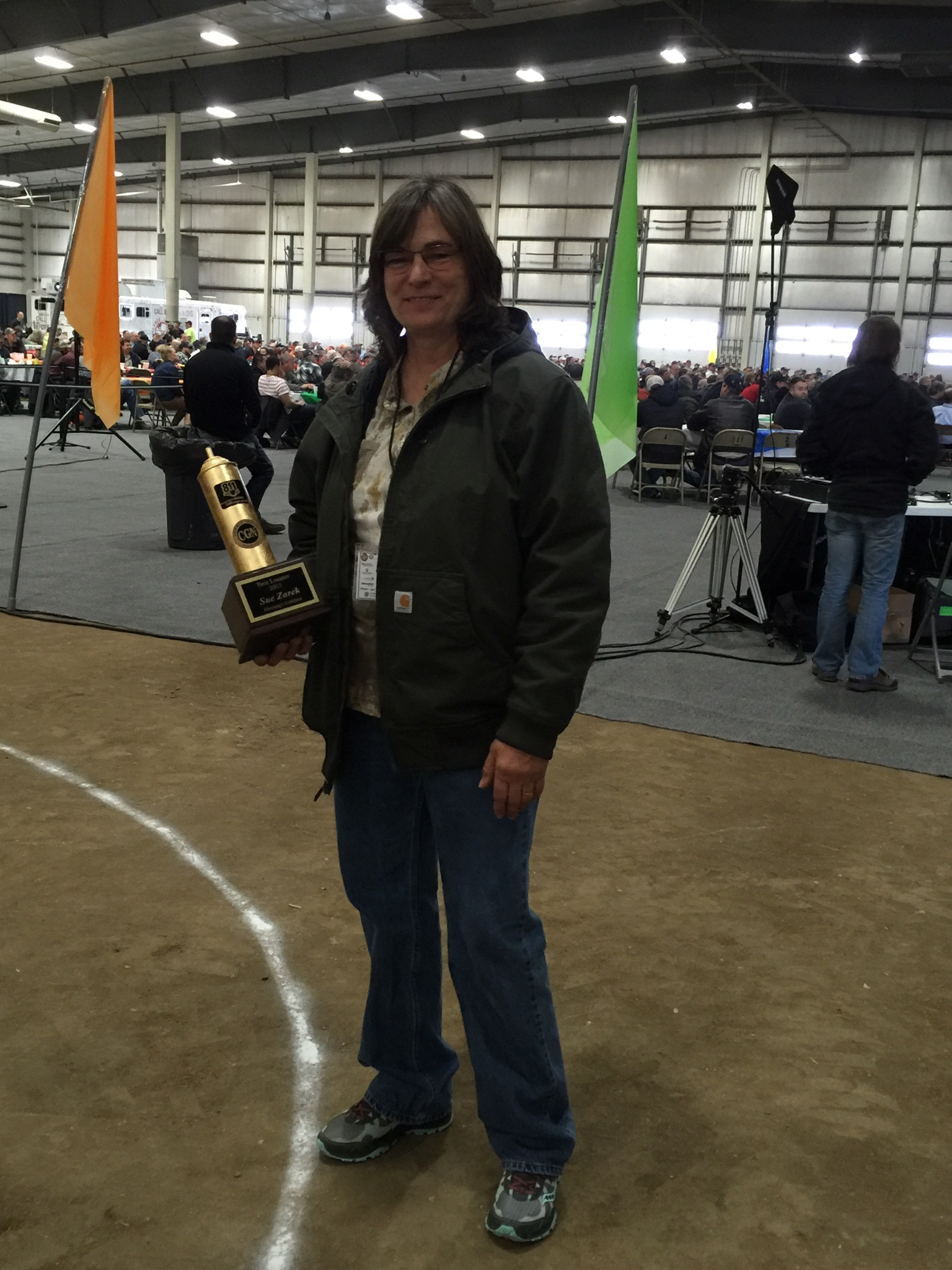 2015 - sue zarek, hastings utilities, locator of the year