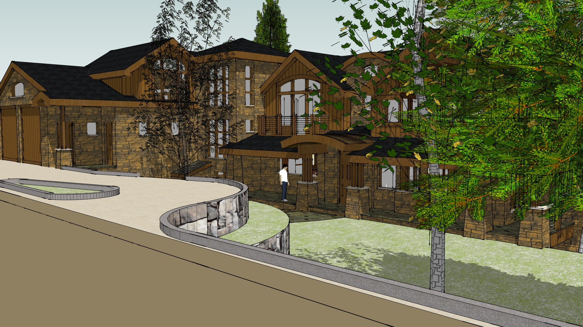 WEST FOREST ROAD VAIL CONCEPT