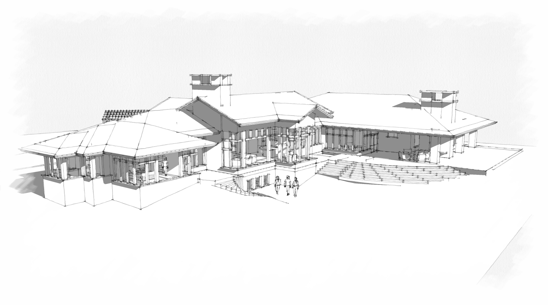COLOROW ROAD RESIDENCE SKETCH