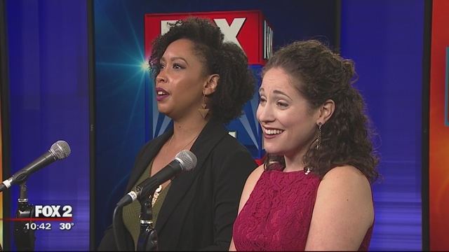 "Click   to hear Briana Elyse Hunter and Soprano Monica Dewey on Fox Detroit singing  ""Ring Duet""  from  27  by Ricky Ian Gordon"