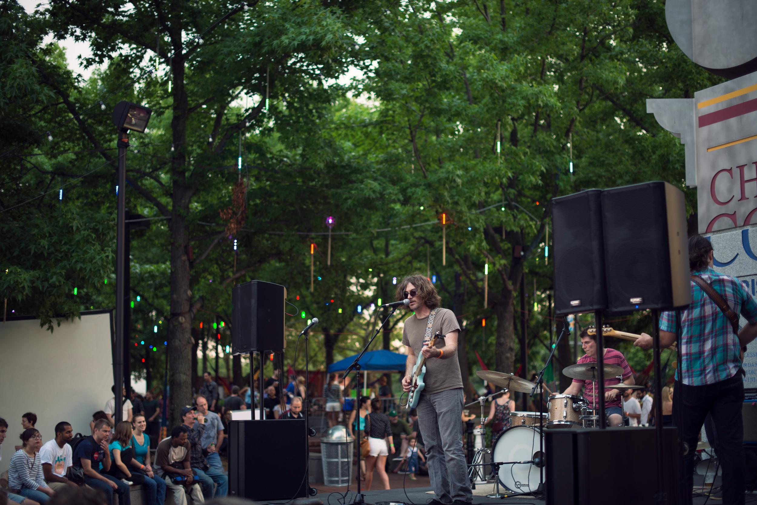 Chris Forsyth at Spruce Street Harbor Park