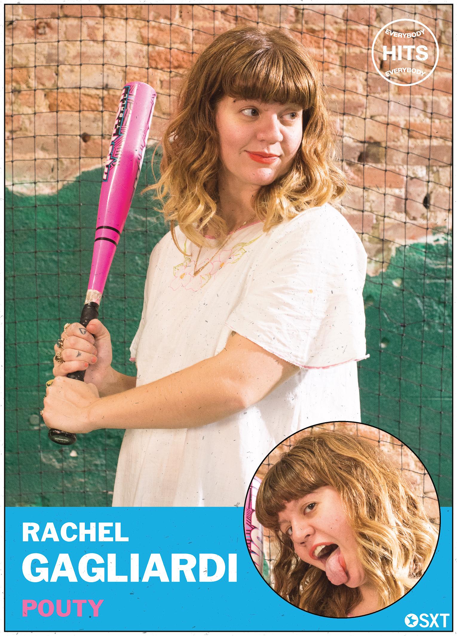 Rachel Gagliardi of Pouty
