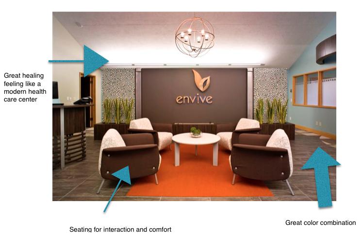 Great Chiropractic Office Design