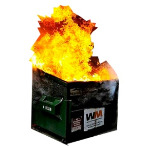Your Chiropractic Marketing without a strong email list (aka- a dumpster fire)