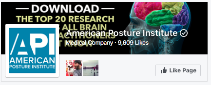 Improving health through API's revolutionary Posturology system: Spinal Alignment, Postural rehabilitation, & Posture Habit Re-education