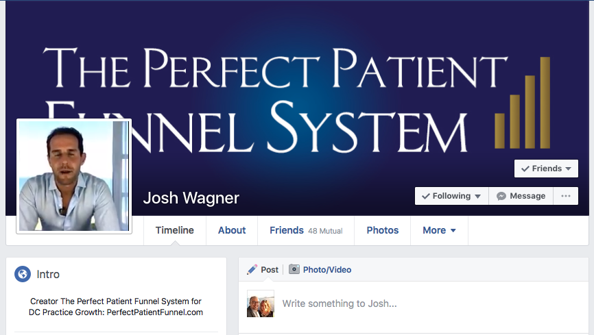 Creator The Perfect Patient Funnel System for DC Practice Growth: PerfectPatientFunnel.com