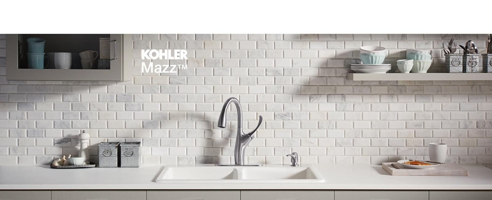 Kohler Mazz Kitchen pull down Faucet - Kloop Studio