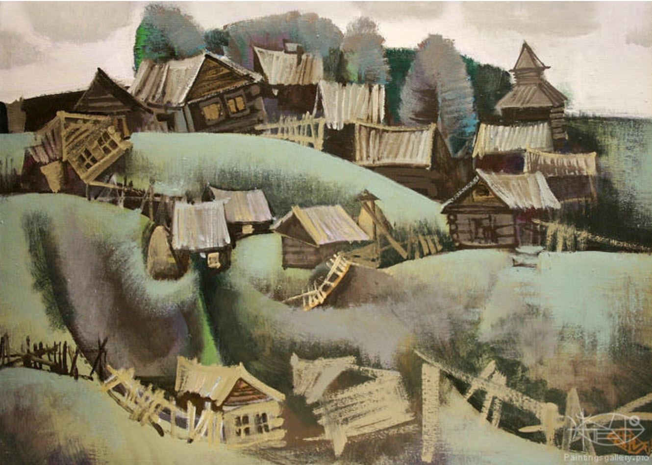 "antonov nikolay ""in village"""