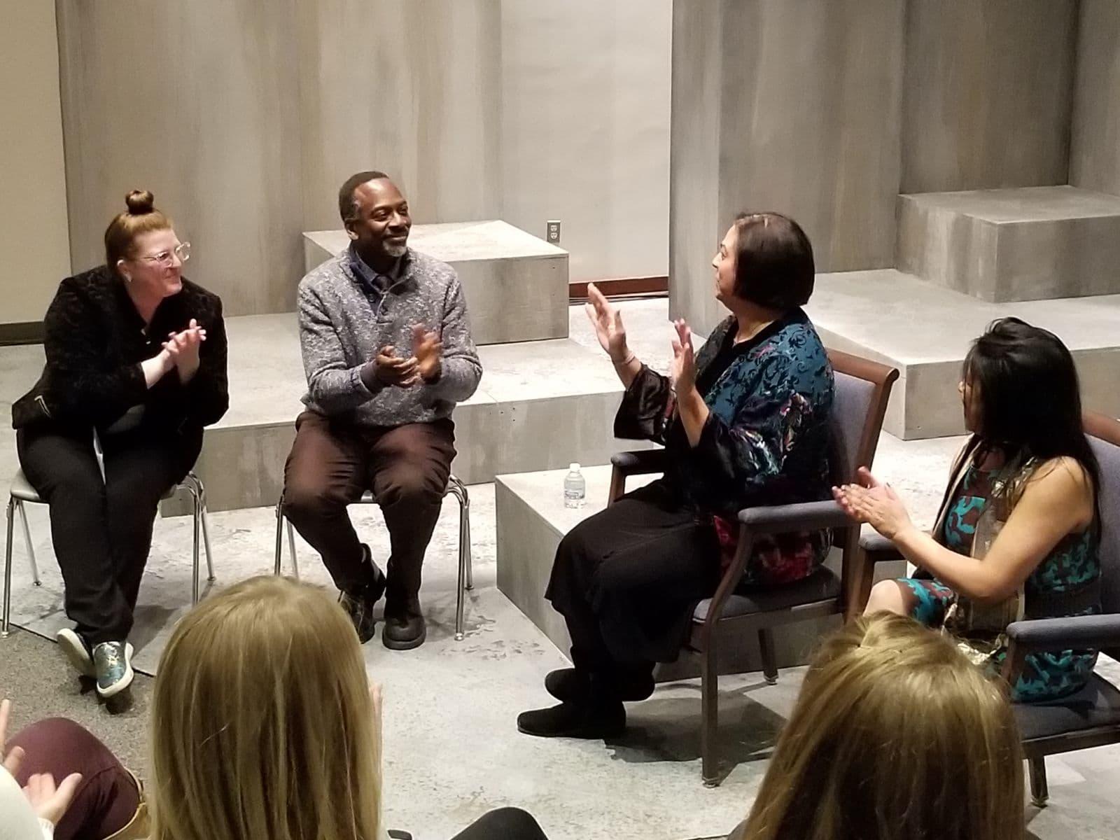 """Doorways program: Race, Gender, & Class in the play """"Actually"""" (2019)"""
