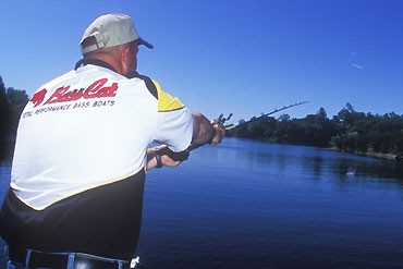 Photo: Bill Siemantel   If you're fishing deep to shallow and you pull aggressive fish toward the boat, the authors recommend you quickly reverse the situation and re-target the fish from shallow water.