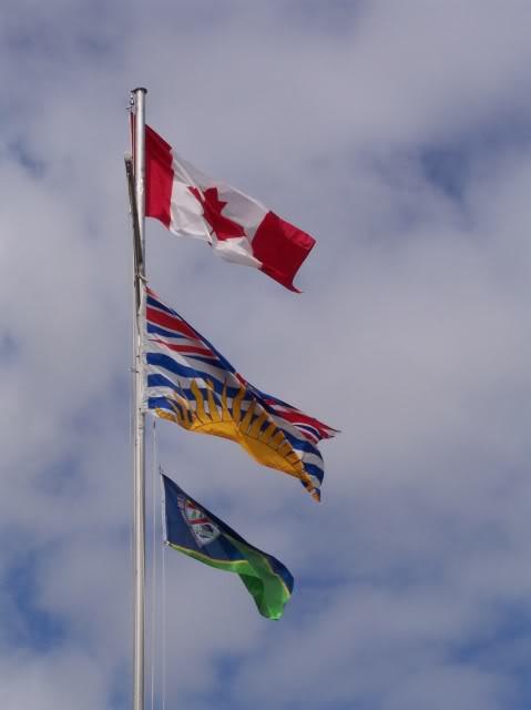 Top to bottom; Canada, British Columbia, Prince Rupert