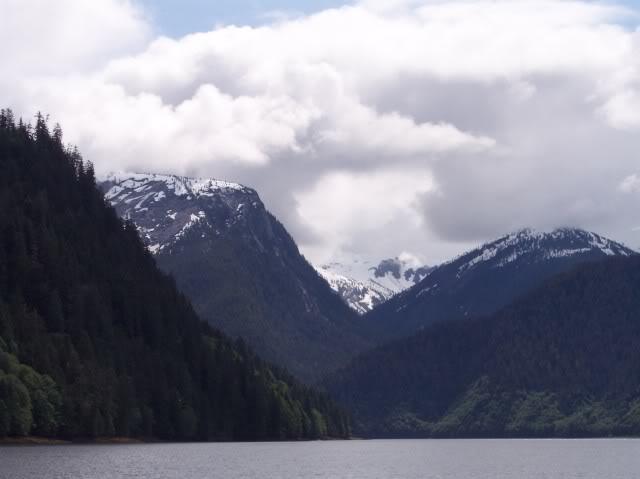 Not far from the Alaskan border
